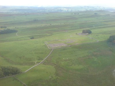 Housesteads Fort at Hadrian's Wall
